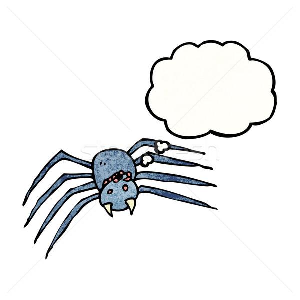 cartoon spider Stock photo © lineartestpilot