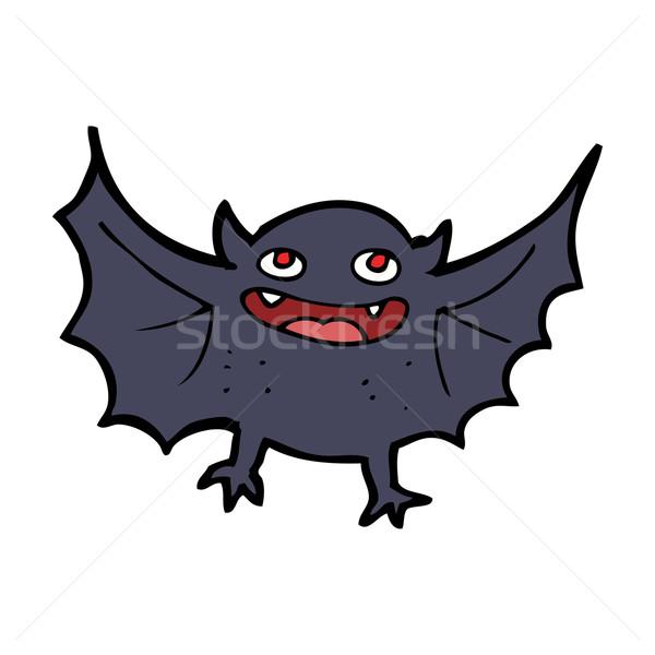 Сток-фото: Cartoon · вампир · Bat · дизайна · искусства · ретро