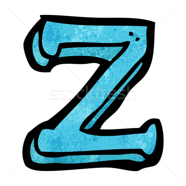 cartoon letter Z Stock photo © lineartestpilot