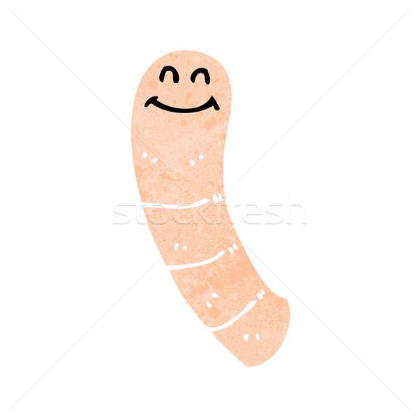 cartoon worm Stock photo © lineartestpilot