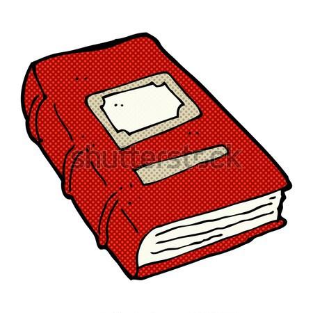 Cômico desenho animado velho livro retro estilo Foto stock © lineartestpilot