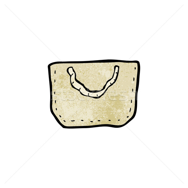 cartoon hessian bag Stock photo © lineartestpilot