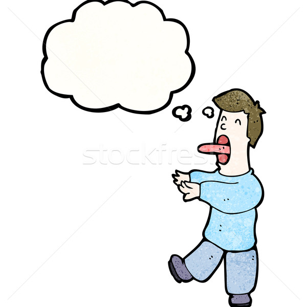 cartoon hypnotized man Stock photo © lineartestpilot