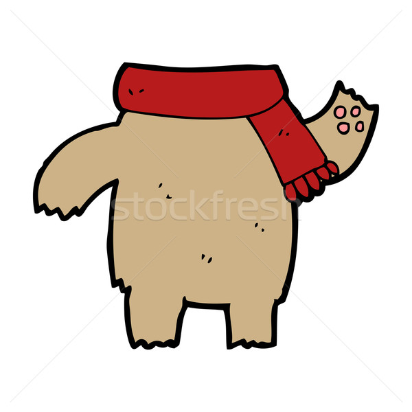 cartoon teddy bear body (mix and match or add own photos) Stock photo © lineartestpilot