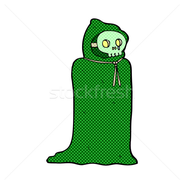 comic cartoon spooky halloween costume Stock photo © lineartestpilot