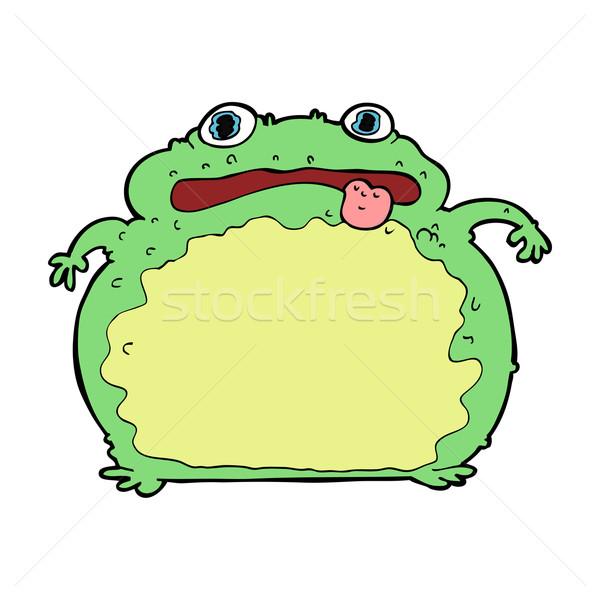 cartoon funny frog Stock photo © lineartestpilot