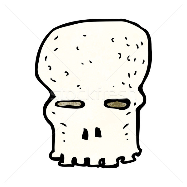 cartoon spooky skull Stock photo © lineartestpilot