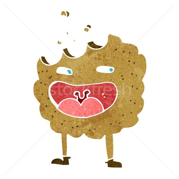 cookie cartoon character Stock photo © lineartestpilot