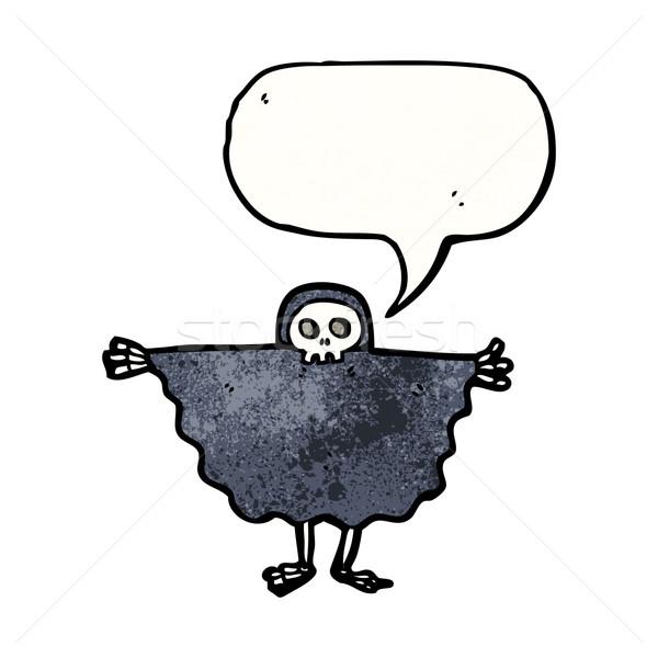 halloween ghoul cartoon Stock photo © lineartestpilot