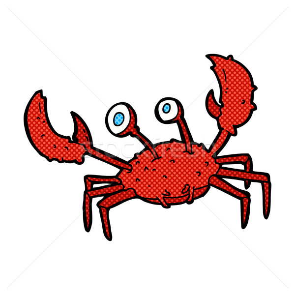 comic cartoon crab Stock photo © lineartestpilot