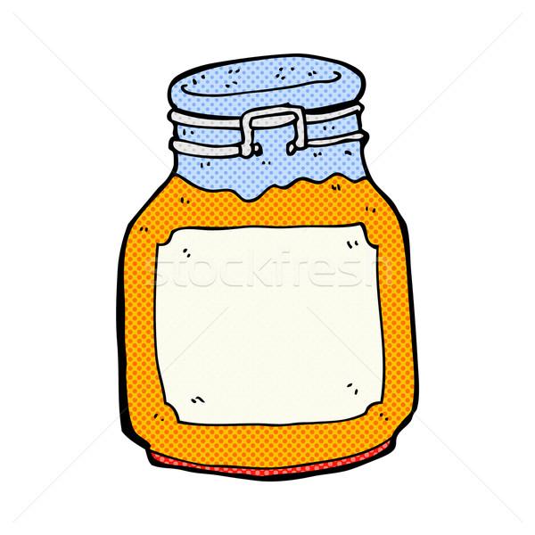 comic cartoon marmalade preserve Stock photo © lineartestpilot