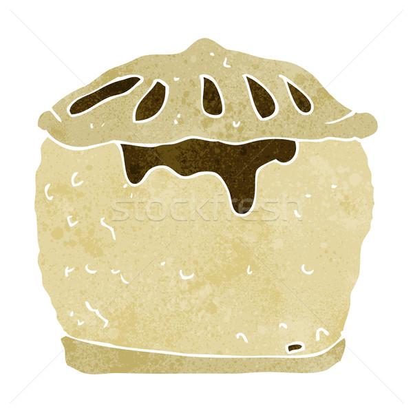 cartoon meat pie Stock photo © lineartestpilot