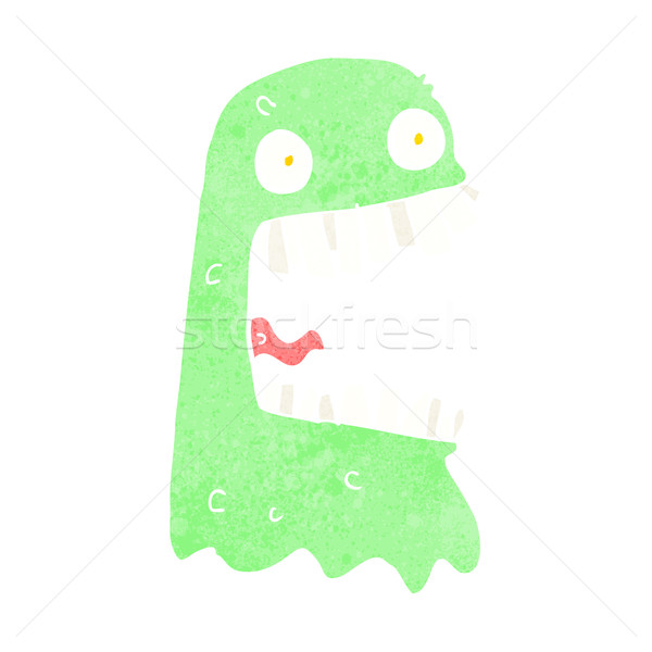 Cartoon fantasma mano diseno loco clip Foto stock © lineartestpilot