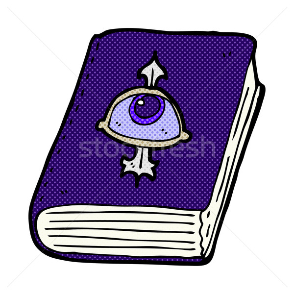 comic cartoon magic spell book Stock photo © lineartestpilot