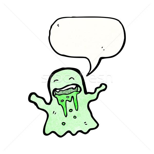 cartoon slimy ghost Stock photo © lineartestpilot