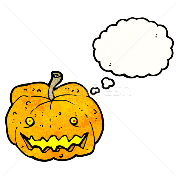 cartoon halloween pumpkin Stock photo © lineartestpilot