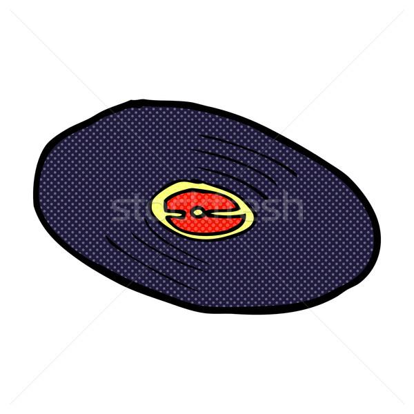 comic cartoon vinyl record Stock photo © lineartestpilot