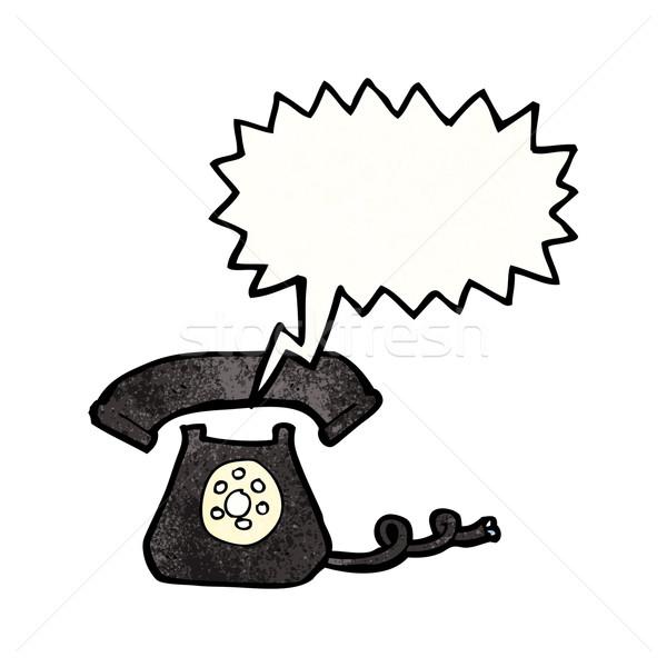 cartoon ringing telephone Stock photo © lineartestpilot