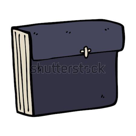 cartoon business files Stock photo © lineartestpilot