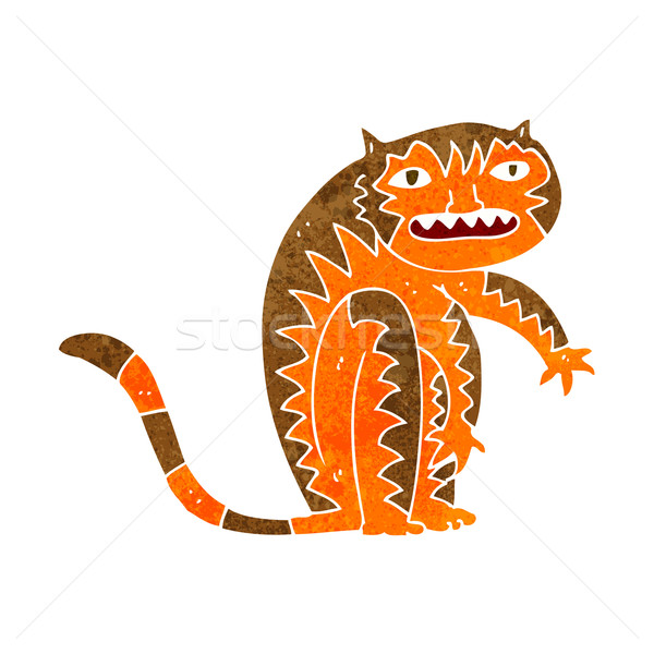 cartoon tiger Stock photo © lineartestpilot