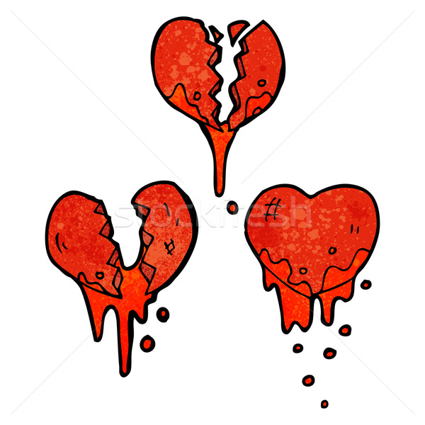 bleeding heart symbols Stock photo © lineartestpilot