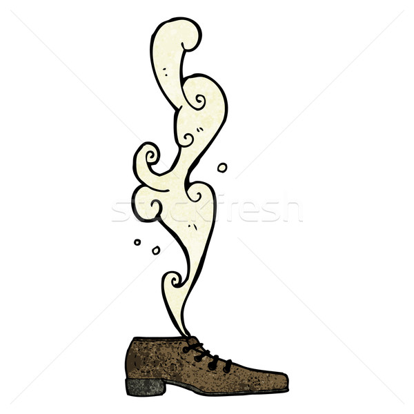 smelly old shoe cartoon Stock photo © lineartestpilot