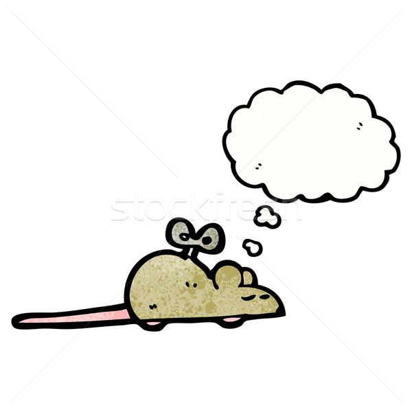 clockwork mouse cartoon Stock photo © lineartestpilot
