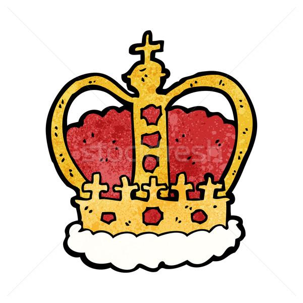 cartoon royal crown Stock photo © lineartestpilot