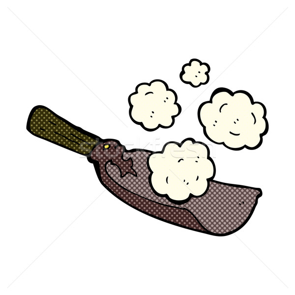 comic cartoon coal shovel Stock photo © lineartestpilot
