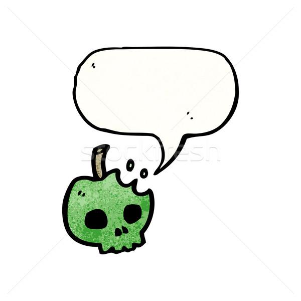 poison apple cartoon Stock photo © lineartestpilot