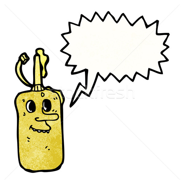 cartoon mustard bottle Stock photo © lineartestpilot