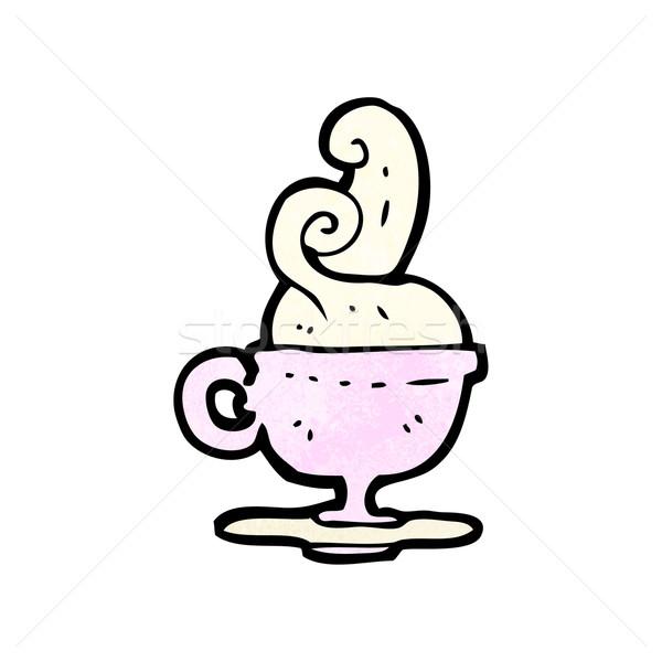 cartoon teacup Stock photo © lineartestpilot