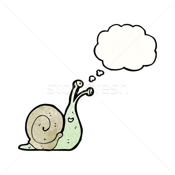 cartoon snail Stock photo © lineartestpilot