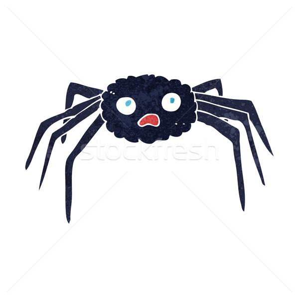 Rajz pók kéz terv művészet állatok Stock fotó © lineartestpilot