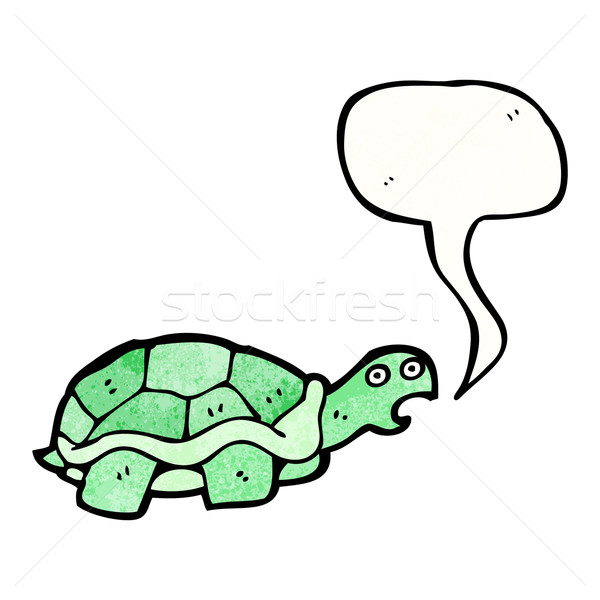 cartoon tortoise Stock photo © lineartestpilot