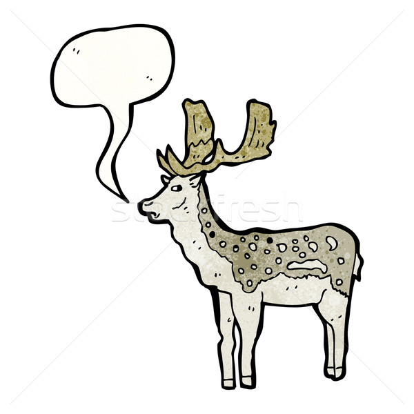 cartoon stag Stock photo © lineartestpilot
