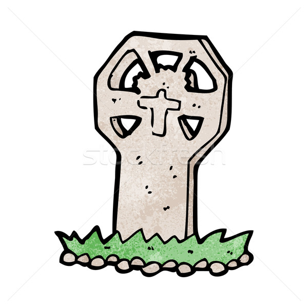 cartoon spooky grave Stock photo © lineartestpilot