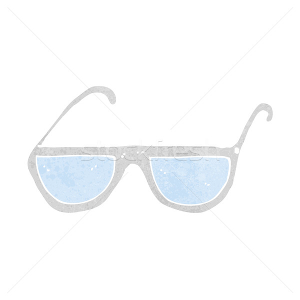 cartoon spectacles Stock photo © lineartestpilot