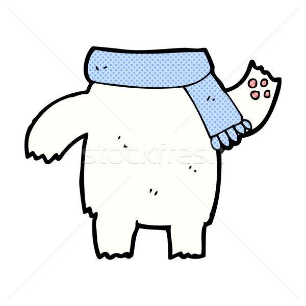 comic cartoon teddy bear body (mix and match or add own photos) Stock photo © lineartestpilot