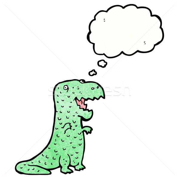cartoon friendly dinosaur Stock photo © lineartestpilot