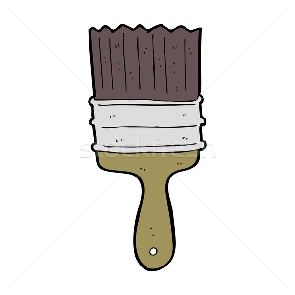 cartoon paint brush Stock photo © lineartestpilot