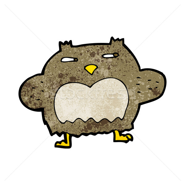 cartoon suspicious owl Stock photo © lineartestpilot