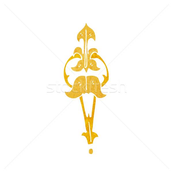 cartoon ornate clasp Stock photo © lineartestpilot