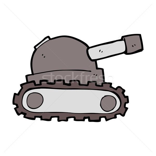 cartoon tank Stock photo © lineartestpilot