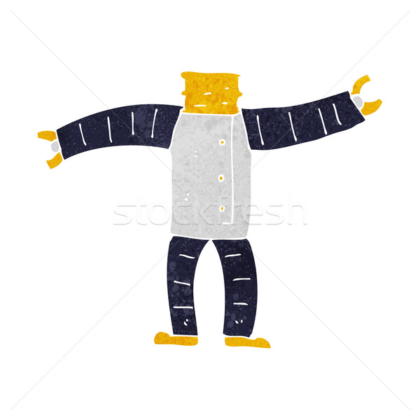 cartoon robot body (mix and match cartoons or add own photos) Stock photo © lineartestpilot