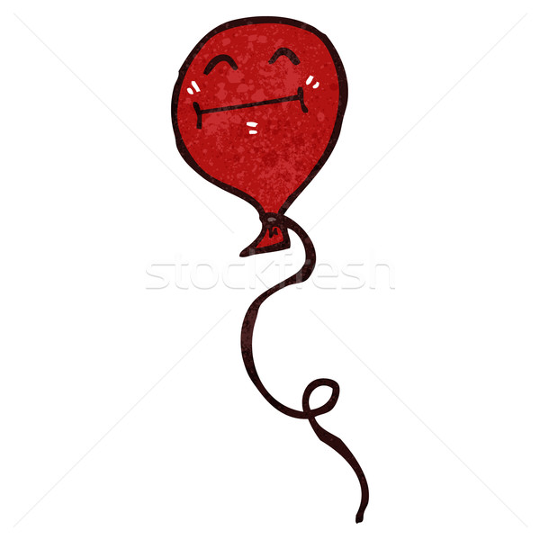 Stock photo: retro cartoon balloon