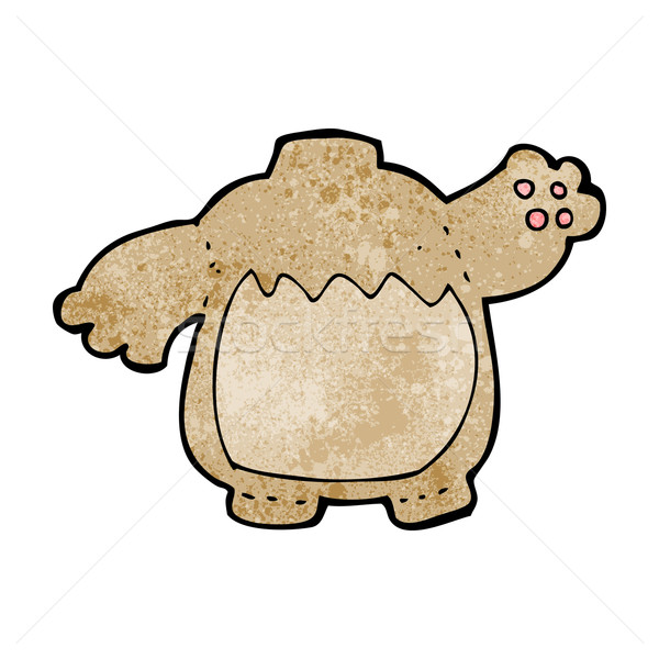 cartoon teddy bear body (mix and match cartoons or add own photo Stock photo © lineartestpilot
