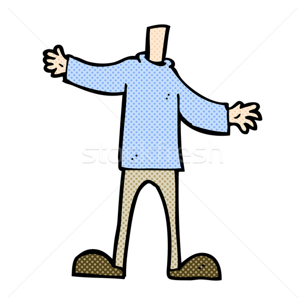 comic cartoon body (mix and match comic cartoons or add your own Stock photo © lineartestpilot