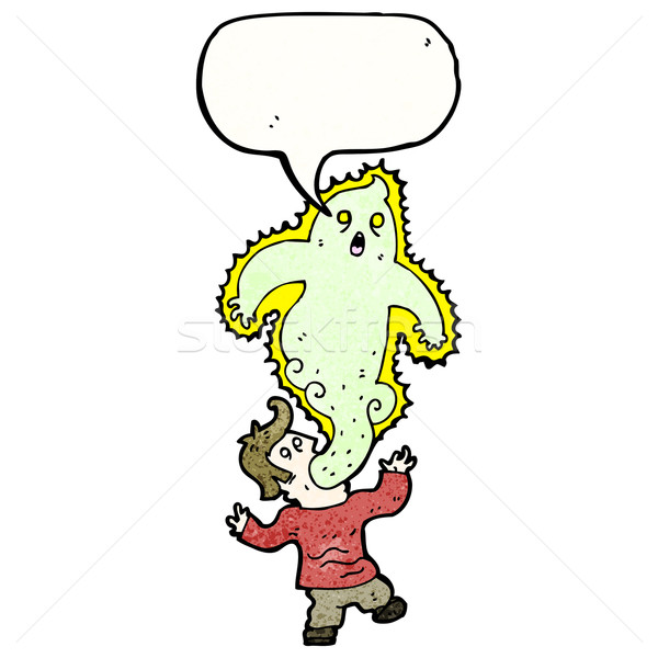cartoon exorcism Stock photo © lineartestpilot