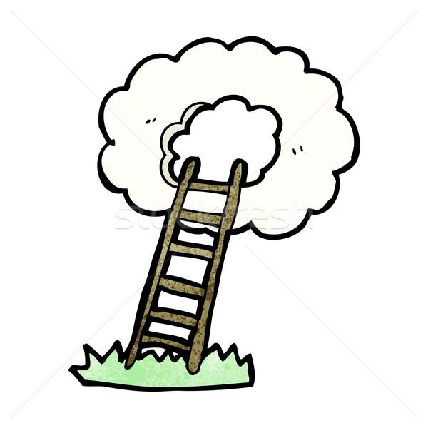stairway to heaven cartoon Stock photo © lineartestpilot